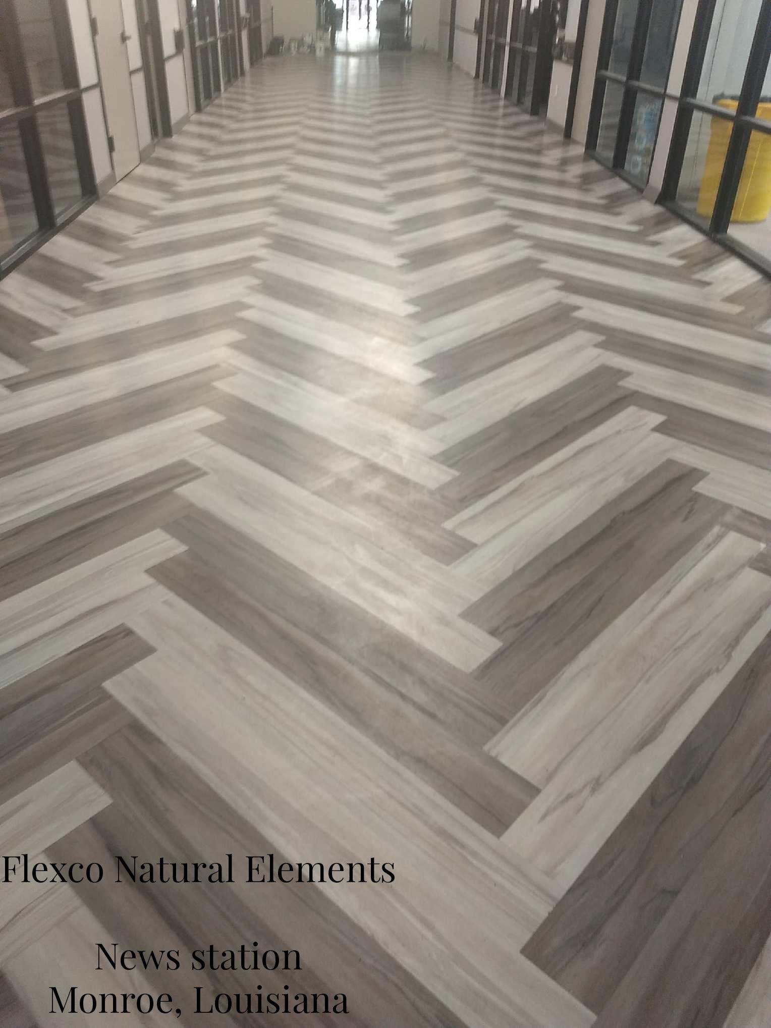 News Station Monroe LA - Natural Element Vinyl Plank